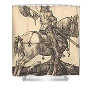 Saint George On Horseback Shower Curtain