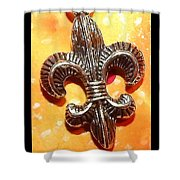 Saint Heart Shower Curtain