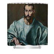 Saint James The Elder Shower Curtain