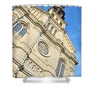 Saint Jean Baptiste Church In Quebec City Shower Curtain