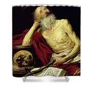 Saint Jerome Shower Curtain