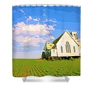 Saint John Shower Curtain