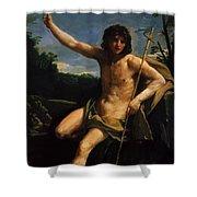 Saint John The Baptist 1637 Shower Curtain