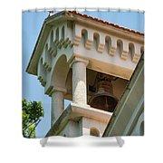 Saint John The Baptist Bell Tower Shower Curtain
