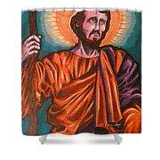 Saint Joseph Shower Curtain