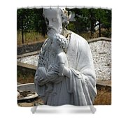 Saint Joseph Shower Curtain by Peter Piatt