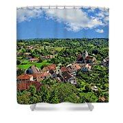 Saint-laurent Landscape Shower Curtain