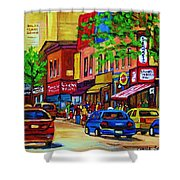 Saint Lawrence Street  Shower Curtain