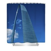 Saint Louis Arch Shower Curtain