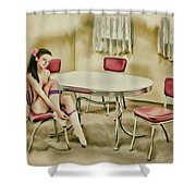 Saint Louis - Asian American Series Shower Curtain