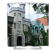 Saint Louis Square 8 Shower Curtain