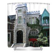 Saint Louis Square 9 Shower Curtain