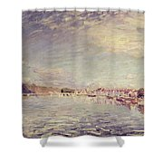Saint Mammes Shower Curtain