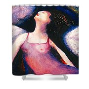 Saint Marcela Shower Curtain