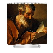 Saint Mark 1621 Shower Curtain