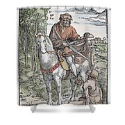 Saint Martin (c316-397) Shower Curtain