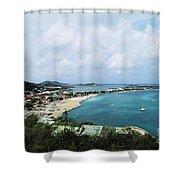 Saint Martin Coast Shower Curtain
