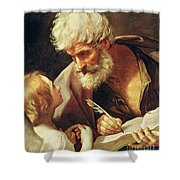 Saint Matthew Shower Curtain