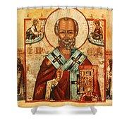 Saint Nicholas Shower Curtain