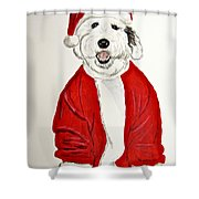 Saint Nick Shower Curtain