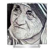 Mother Teresa Saint Of Calcutta  Shower Curtain