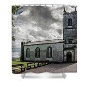 Saint Patricks Church On The Hill Of Tara Shower Curtain