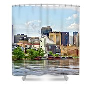 Saint Paul From The Mississippi Shower Curtain