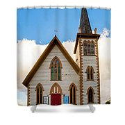 Saint Paul's Episcopal Church Verginia City Nevada Shower Curtain