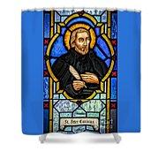 Saint Peter Canisius Shower Curtain