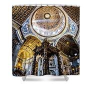 Saint Peter's Basilica II Shower Curtain