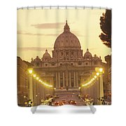 Saint Peters Cathedral In The Vatican Shower Curtain