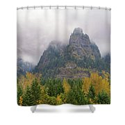 Saint Peters Dome At Columbia River Gorge Shower Curtain
