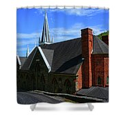 Saint Peters Roman Catholic Church In Harpers Ferry West Virginia Shower Curtain