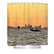 Saint Petersburg Florida Shower Curtain