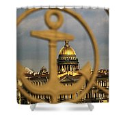 Saint Petersburg Shower Curtain