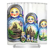 Saint Petersburg  Shower Curtain