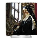 Saint Rita Shower Curtain