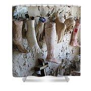 Saint Roch Legs And Feet Shower Curtain