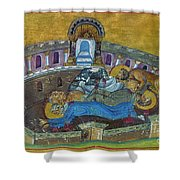 Saint Silvanus Of Emesa Shower Curtain