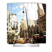 Saint Stephen Shower Curtain