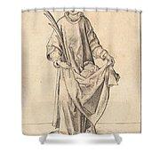 Saint Stephen Shower Curtain