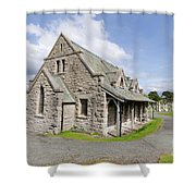 Saint Tudno Church 2 Shower Curtain