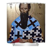 Saint Vasilios Shower Curtain