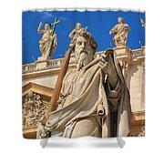 Saints Shower Curtain