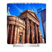 Saints Peter And Paul In Philadelphia   Shower Curtain