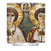 Saints Sergius And Bacchus Shower Curtain by Granger