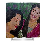 Sakhi Shower Curtain