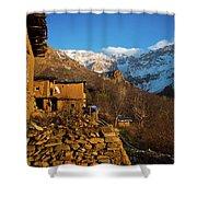Sakran Village Shower Curtain