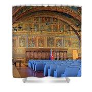 Sala Dei Notari 13th Century Shower Curtain