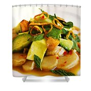 Salad Shower Curtain